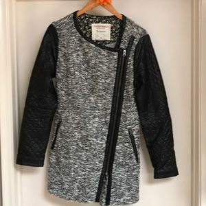 Anthropology Cartonnier tweed coat